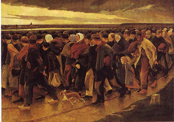 peinture-inclassable-laermans emigrants