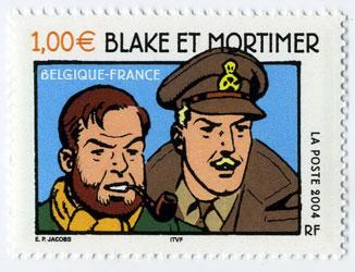 ligne-claire-Blake & Mortimer